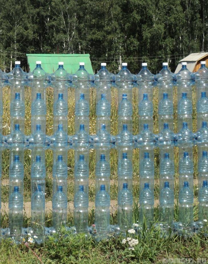 Строим парник из пластиковых бутылок своими руками