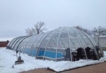 бассейн теплица